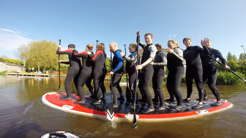 family lessons group lessons hire of paddle boards west sussex