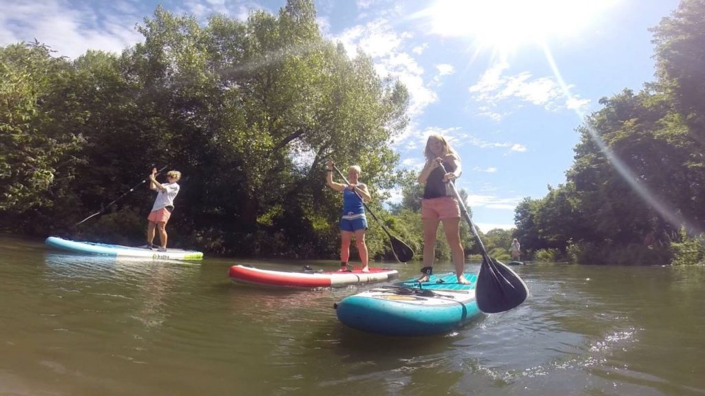 West Sussex Chichester Canal paddle boarding lessons