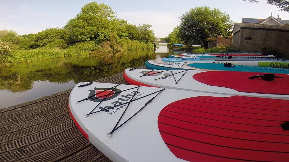 SUP paddle boarding West Sussex